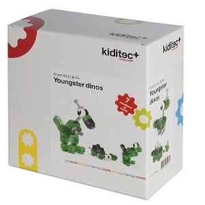 Конструктор Kiditec Youngster dinos 1413