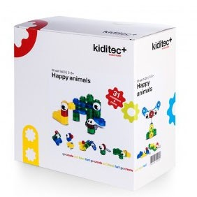 Kiditec Happy animals Set
