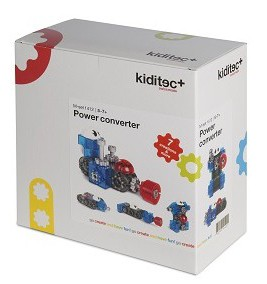 Конструктор Kiditec Power converter M-buddies 1412