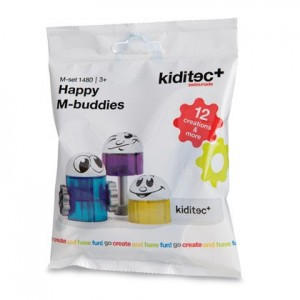 Конструктор Kiditec Happy M-buddies 1480