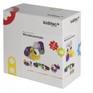 Конструктор Kiditec Wonderanimals 1414