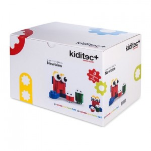 Конструктор Kiditec Set 3-people